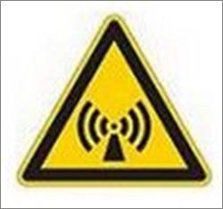 Picto risques rayonnements électromagnétiques