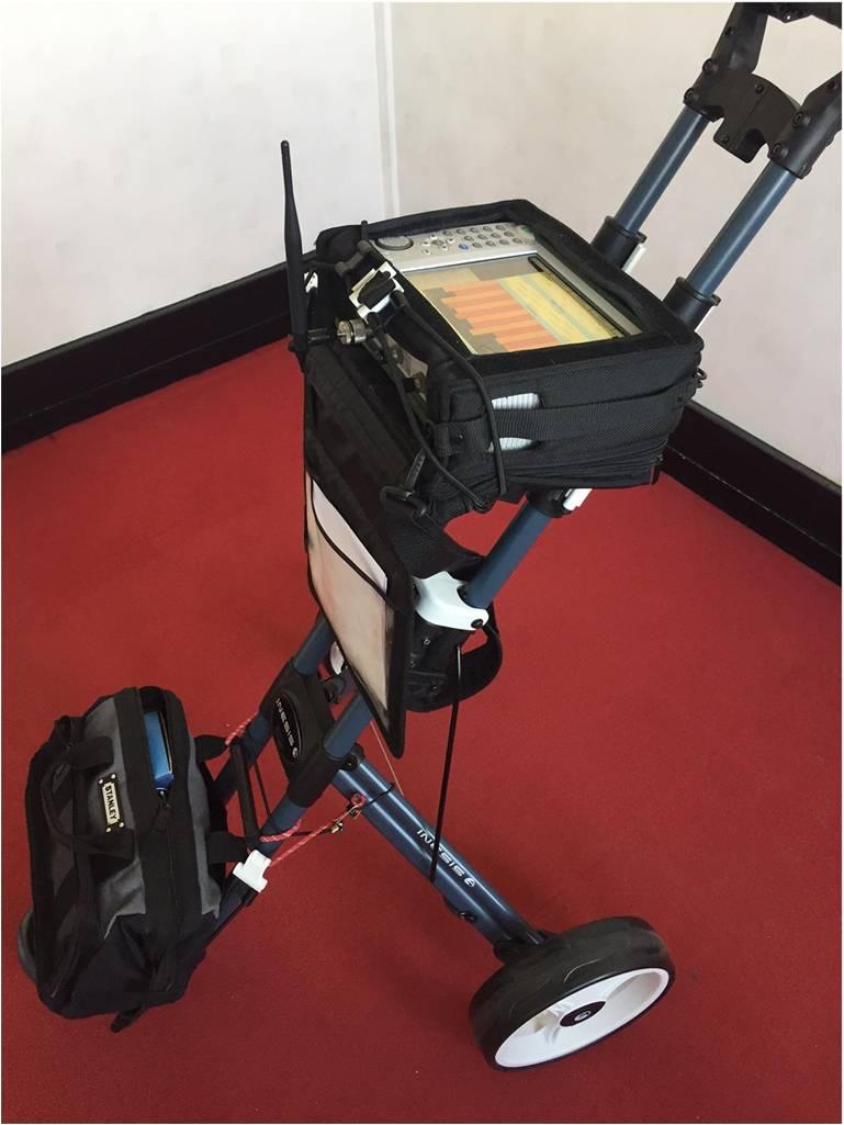 Chariot de mesur électromagnétique, certification WiredScore
